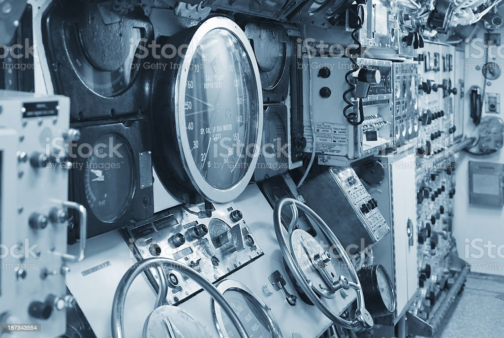 Mechanical, Electrical Control and Display Equipments royalty-free stock photo
