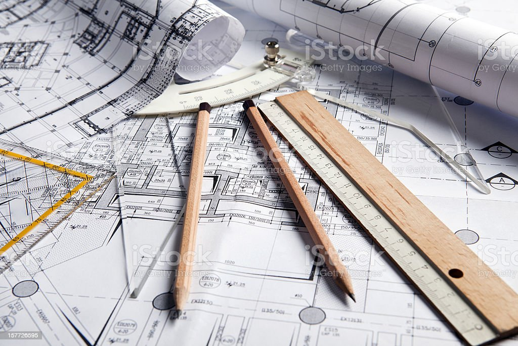 Mechanical engineering stock photo