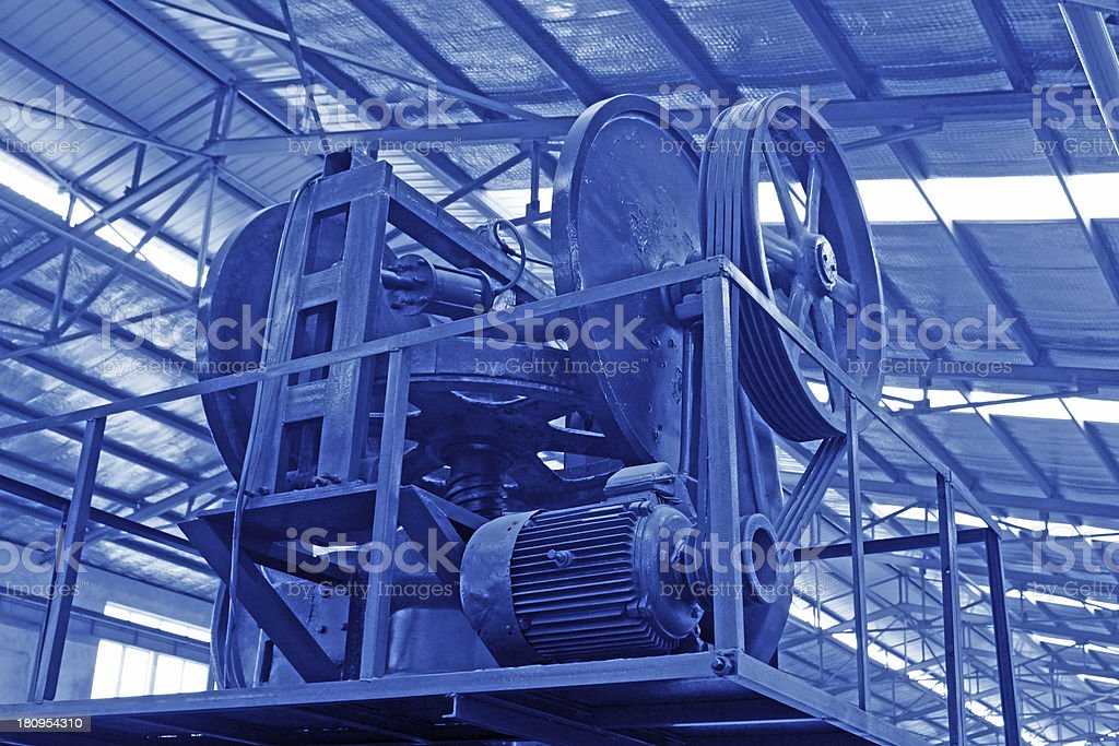 mechanical equipment royalty-free stock photo