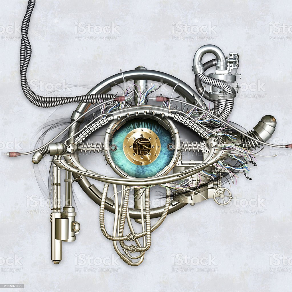 Mechanische eye – Foto