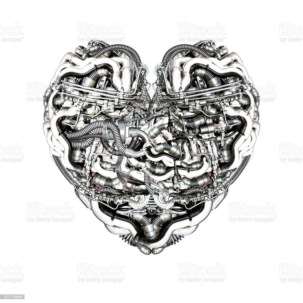 Mechanische Herz und Gehirn – Foto