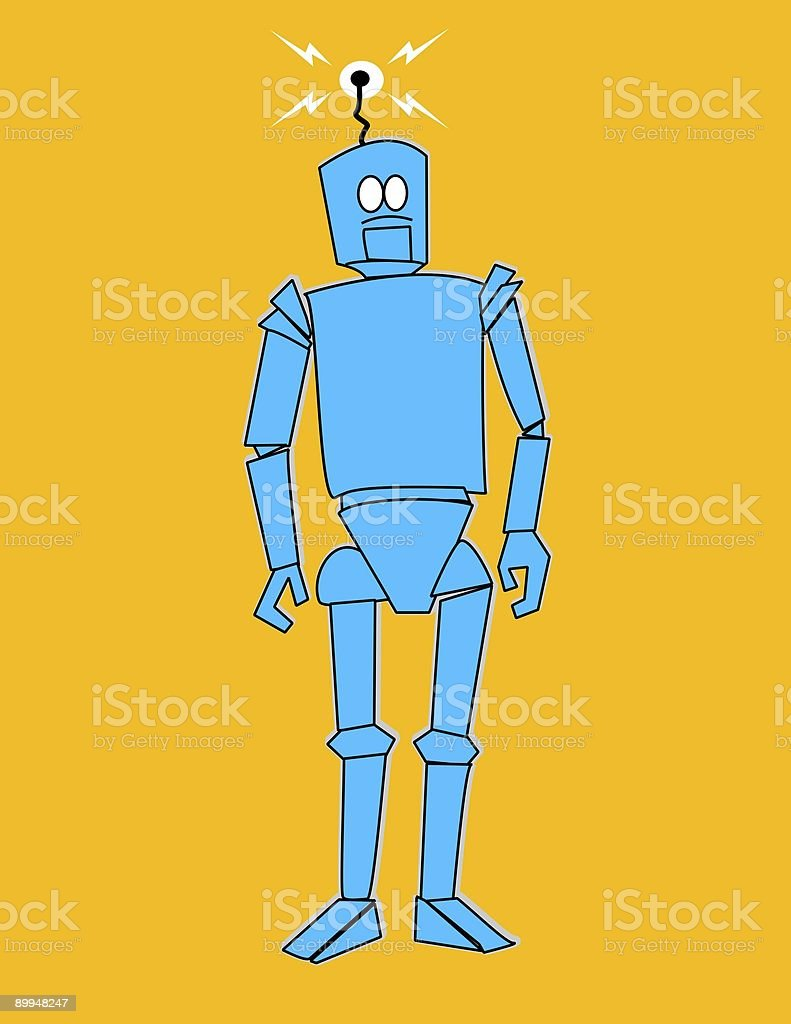 Mechanical Man royalty-free stock photo