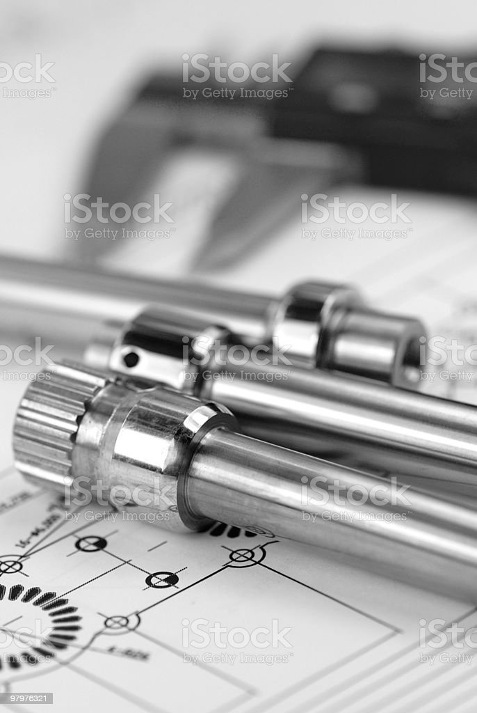 mechanical prats royalty-free stock photo