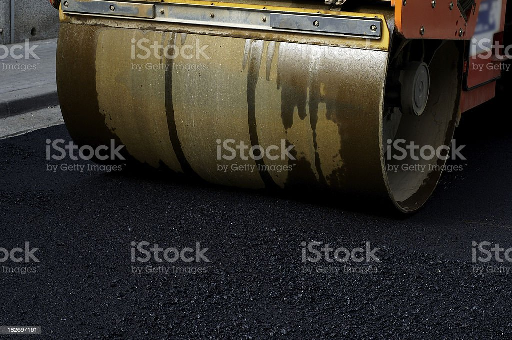 Mechanical roller royalty-free stock photo