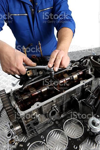 Mechanics Hands Stock Photo - Download Image Now