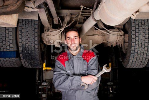 istock Mechanic's portrait. 462317869