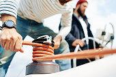 Mechanism of sailing
