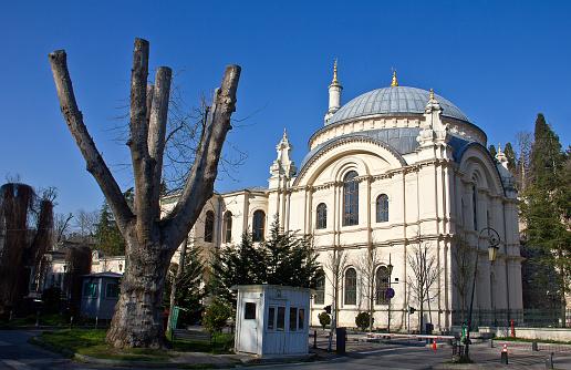 Mecidiye Mosque was built by Ottoman Sultan Abdulmecid II in beşiktaş Istanbul,Turkey.
