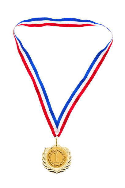 medal for first place - medal stock photos and pictures