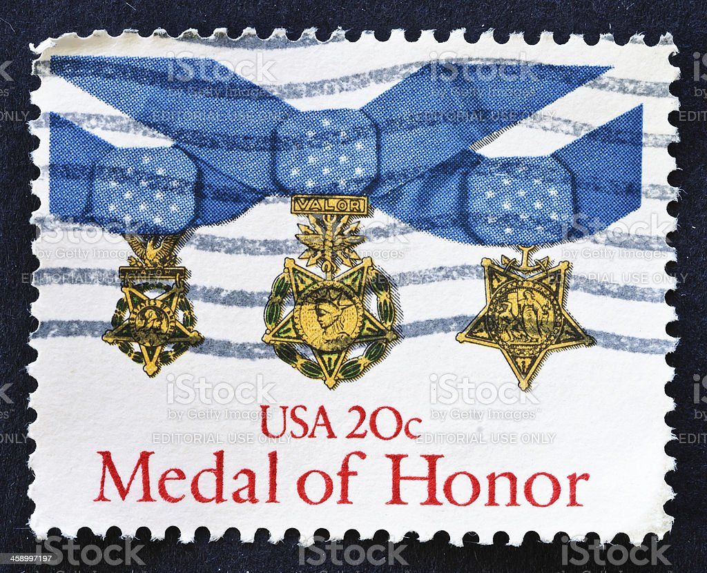 Medal of Honor stock photo