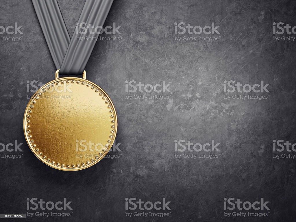 medalj bildbanksfoto