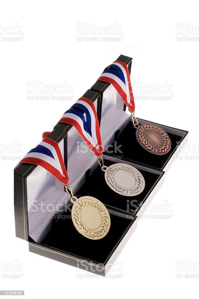 . Medal royalty-free stock photo
