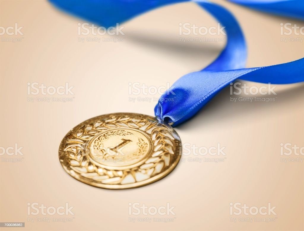 Medal. stock photo