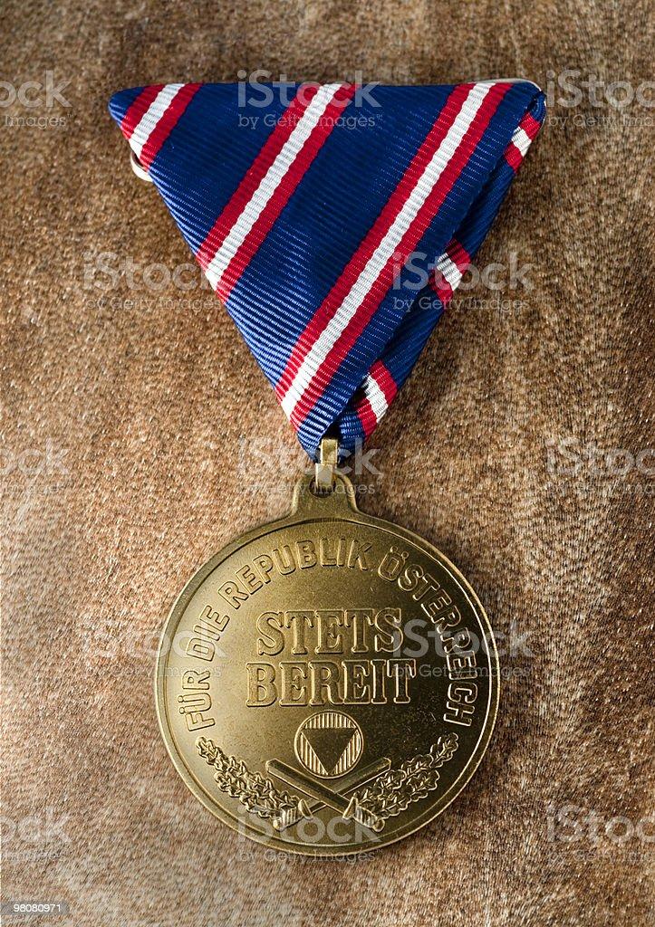 Medaglia-Wehrdiensterinnerungsmedaille oro foto stock royalty-free