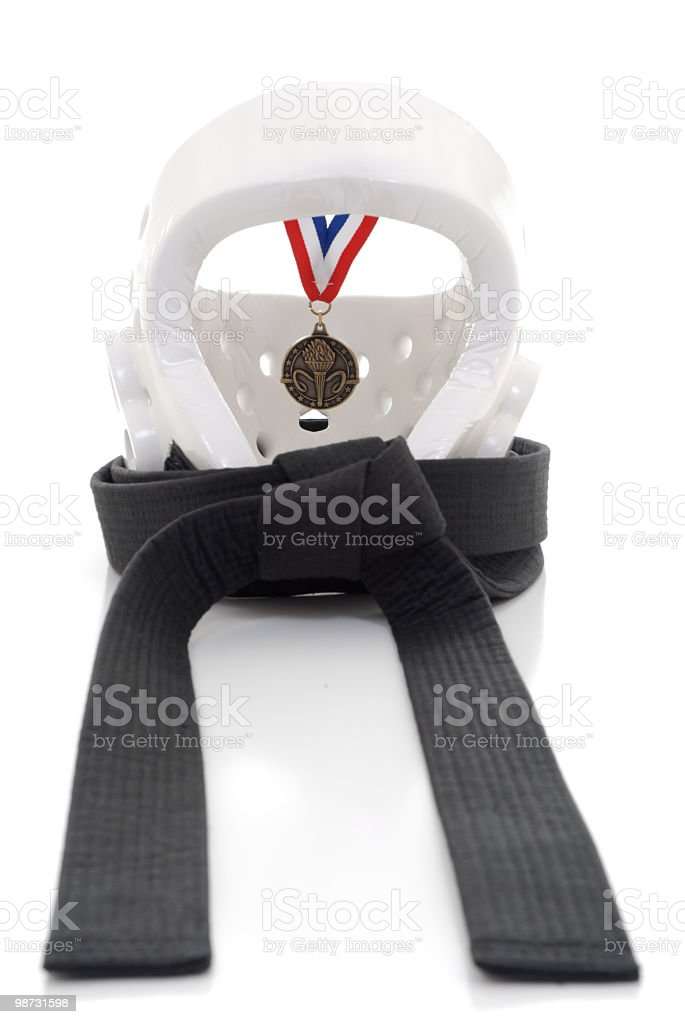 Medaled event royalty-free stock photo