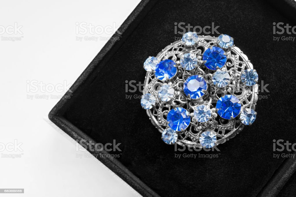 Medallion in a box royalty-free stock photo