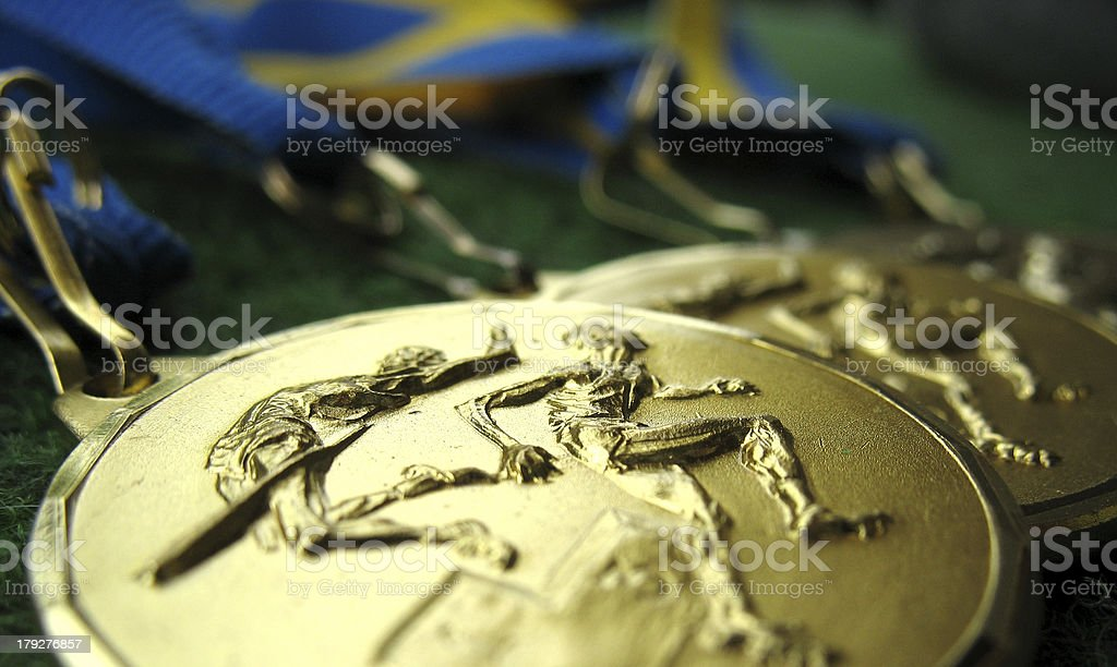 Medals 4 royalty-free stock photo