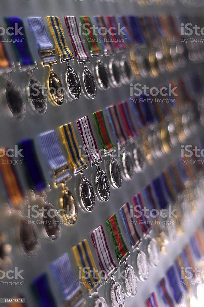 Medal's Board stock photo