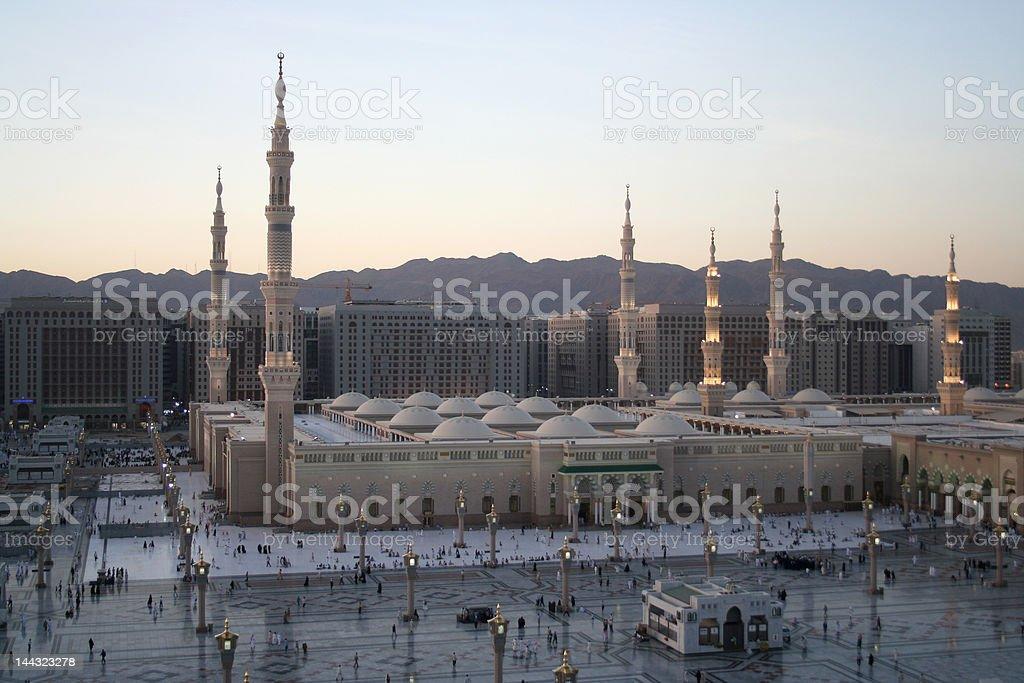 Meddina mosque stock photo
