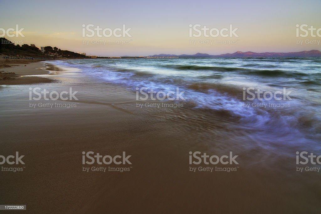 Medditerranian sea stock photo