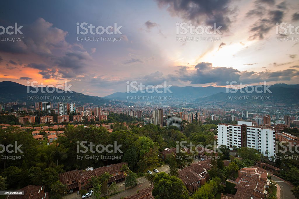Medellin, Colombia royalty-free stock photo