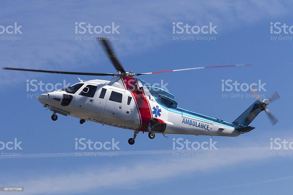 Medevac Helicopter stock photo