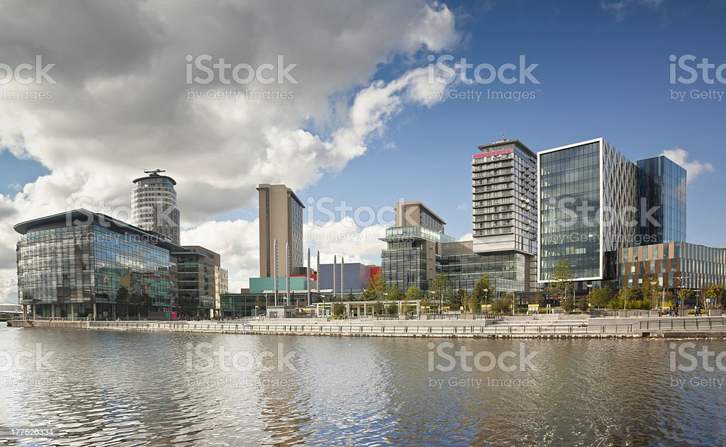 Media City stock photo