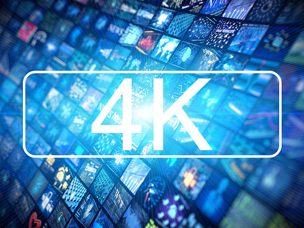 Media concept 4k Digital Media concept with screens 4k 4k resolution stock pictures, royalty-free photos & images