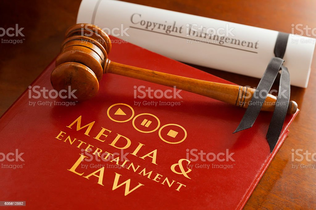 Media & Entertainment Law stock photo