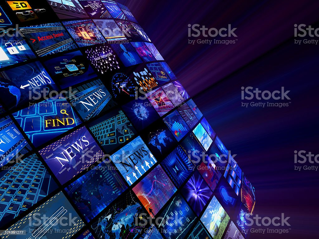 Media News concept royalty-free stock photo