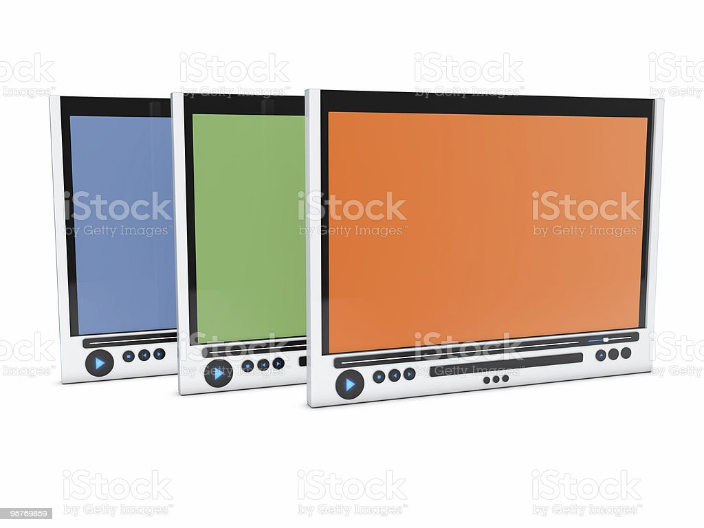 media player , group royalty-free stock photo