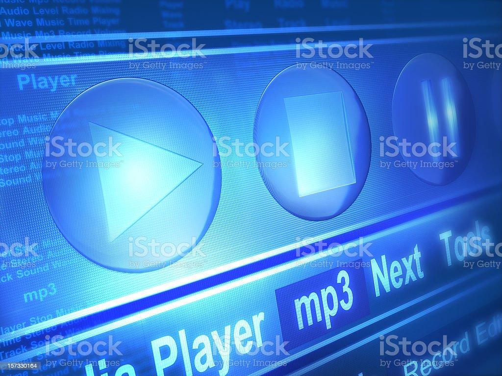 Media Player royalty-free stock photo