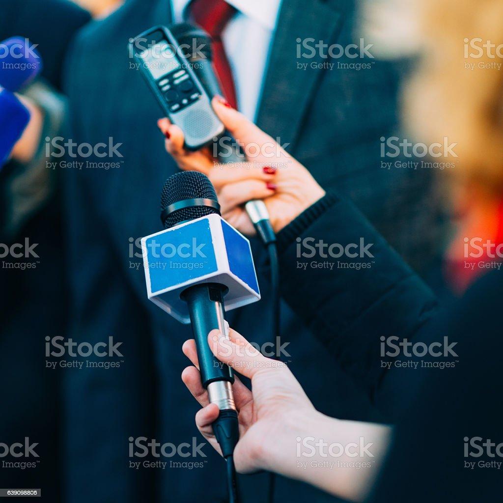 Media power stock photo