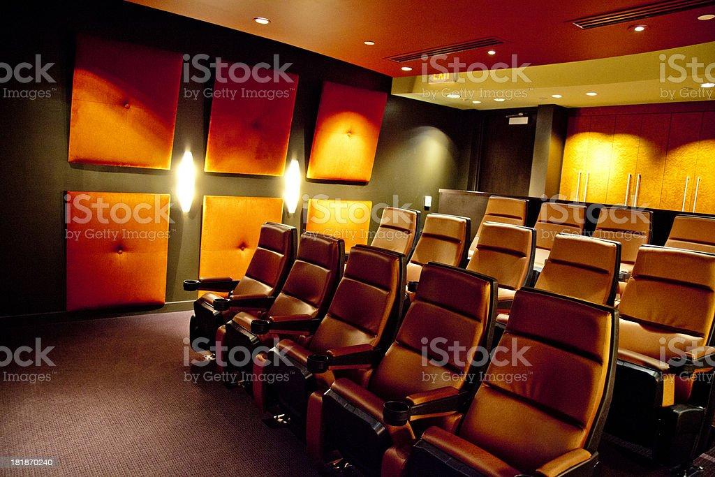 Media Room stock photo