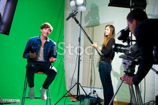 istock media student being interviewed 171583296