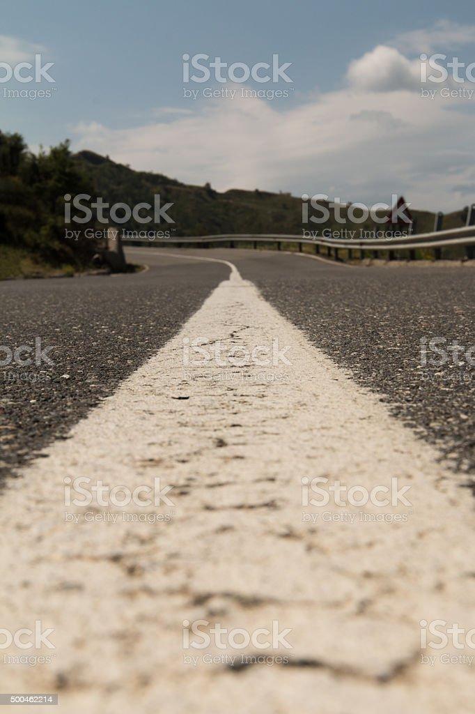 mittelstreifen stock photo