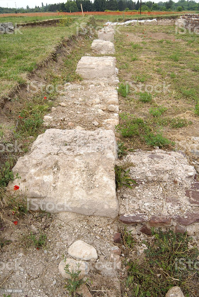 Mediana - archaeological site royalty-free stock photo