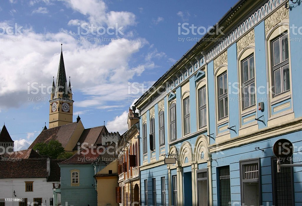 Medias in Transylvania Romania royalty-free stock photo