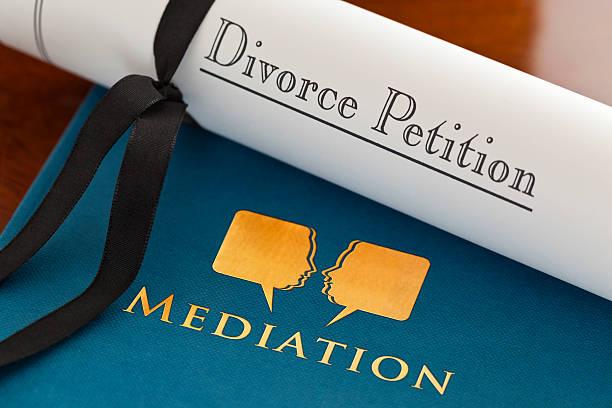 Mediación del Divorcio - foto de stock