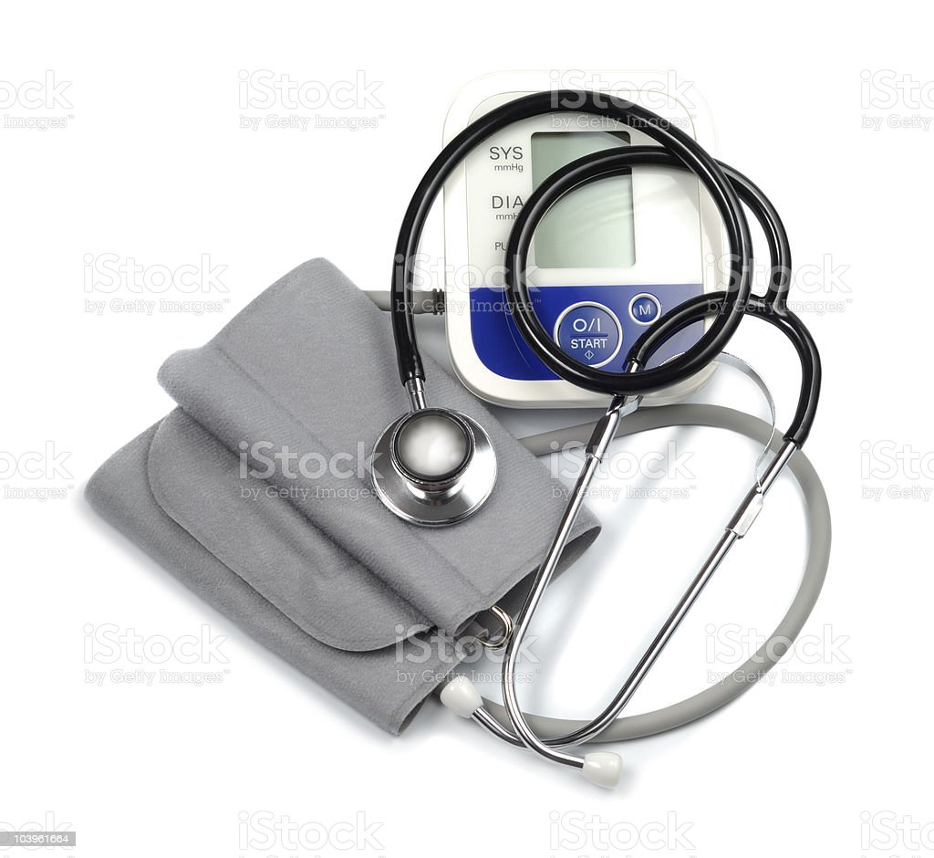 Medic Cardiologist Set royalty-free stock photo