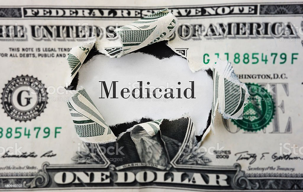 Medicaid costs stock photo