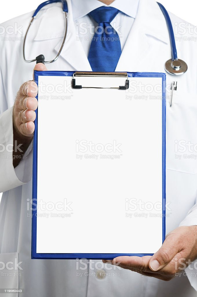 Medical advice stock photo