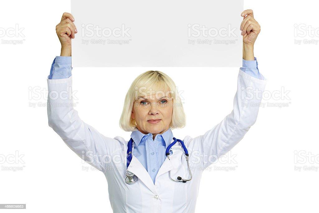 Medizinische Ankündigung Lizenzfreies stock-foto