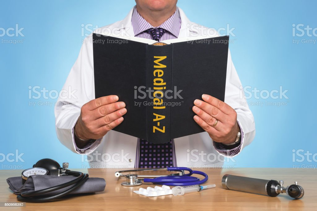 Medical A-Z stock photo