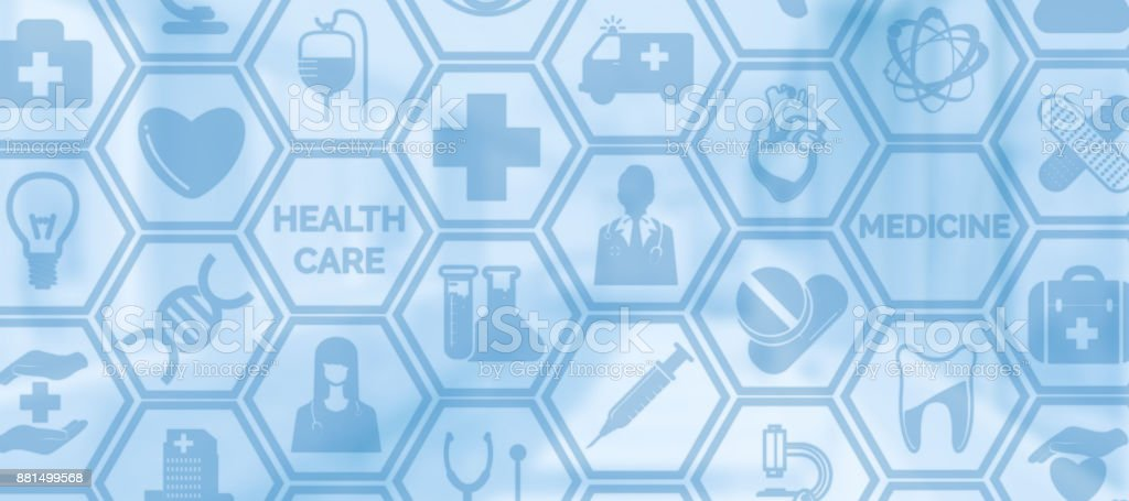 Medical Background, Healthcare Icon Medical Symbol stock photo