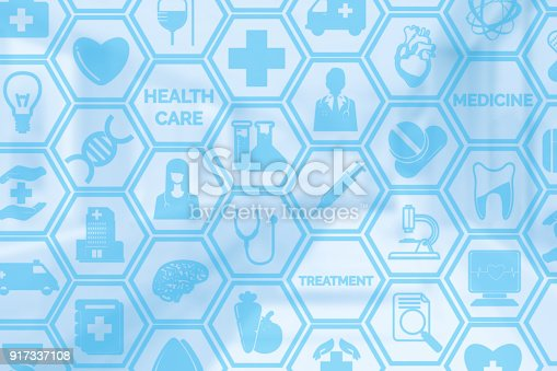 istock Medical Background, Healthcare Icon Medical Symbol 917337108