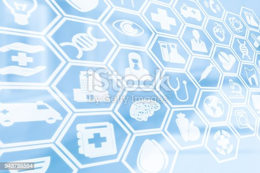 istock Medical Background, Healthcare Icon Medical Symbol 943786554
