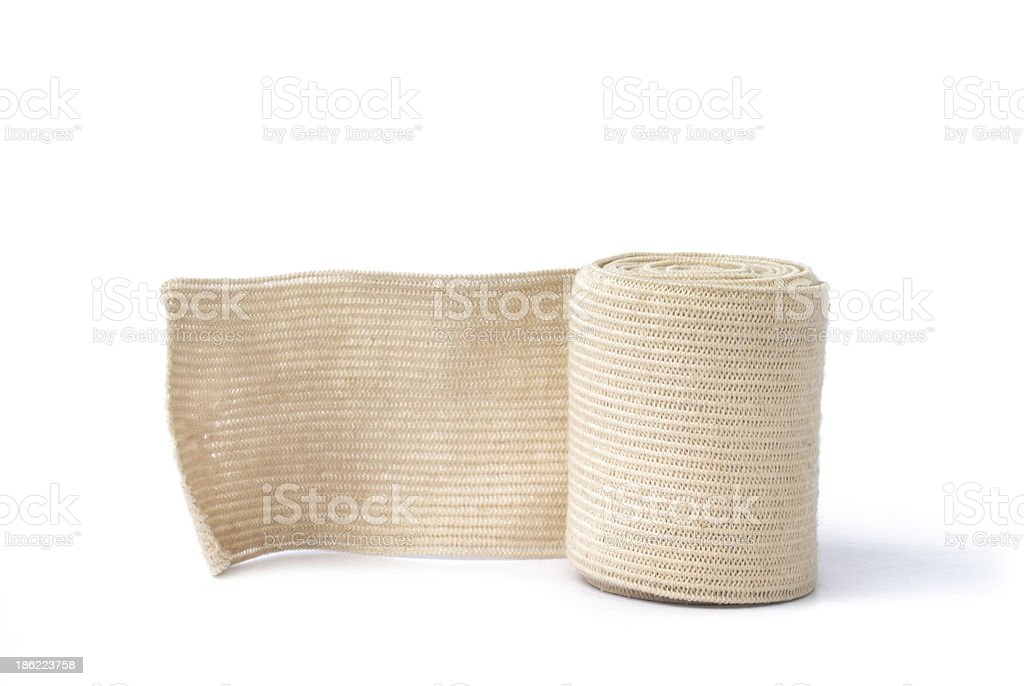 Medical bandage stock photo