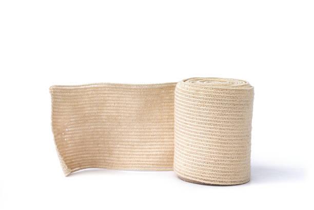 Medical bandage Medical bandage on a white background bandage stock pictures, royalty-free photos & images