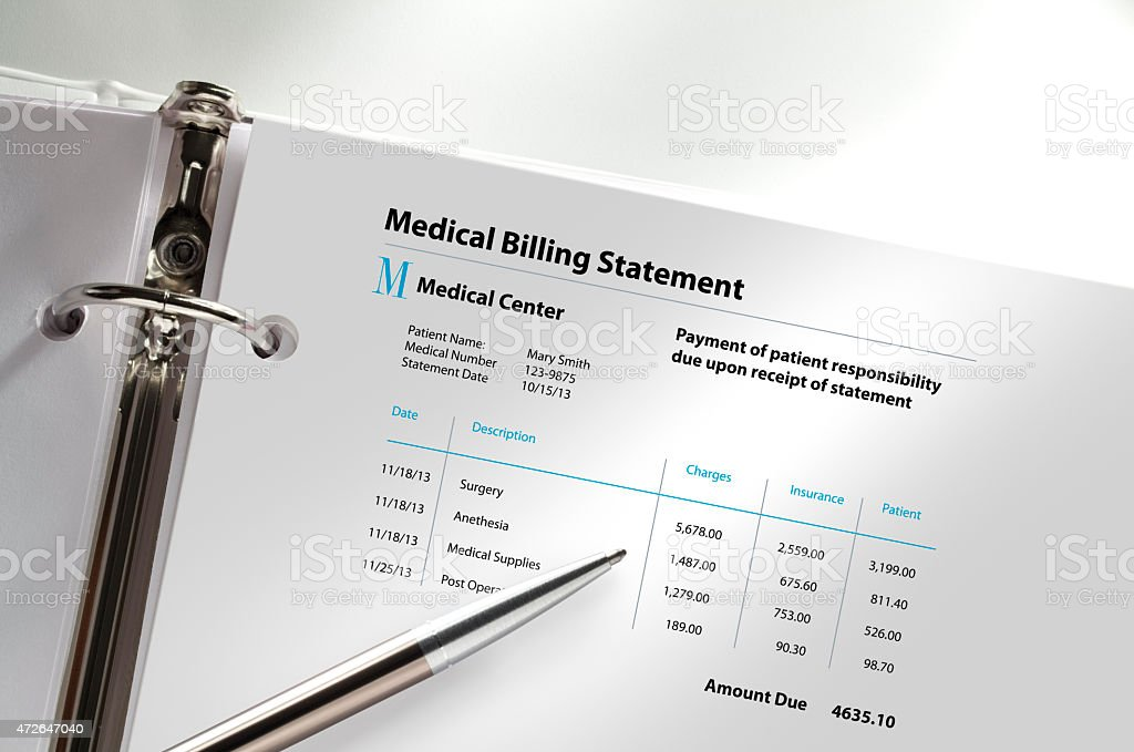 Medical Billing stock photo